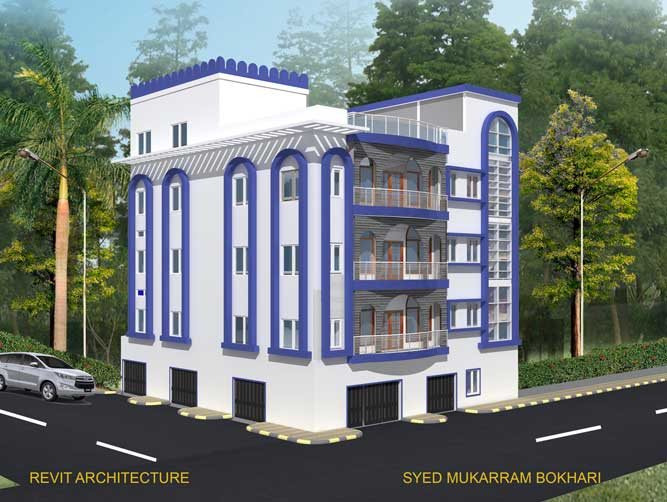 Jamiat-e-Mahdavia-Building-Elevation