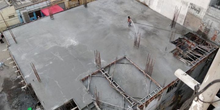 Ground Floor Roof Casting – March 4, 2018