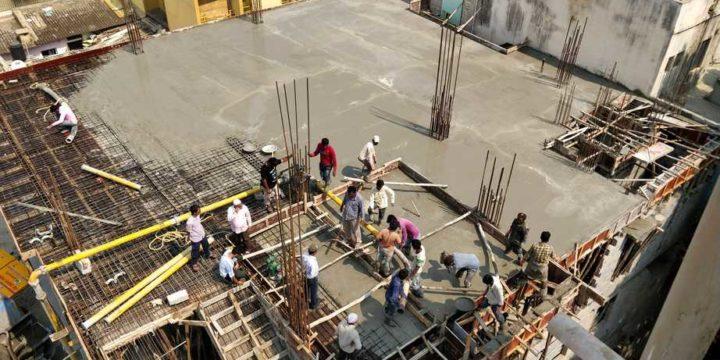 1st Floor Roof Casting